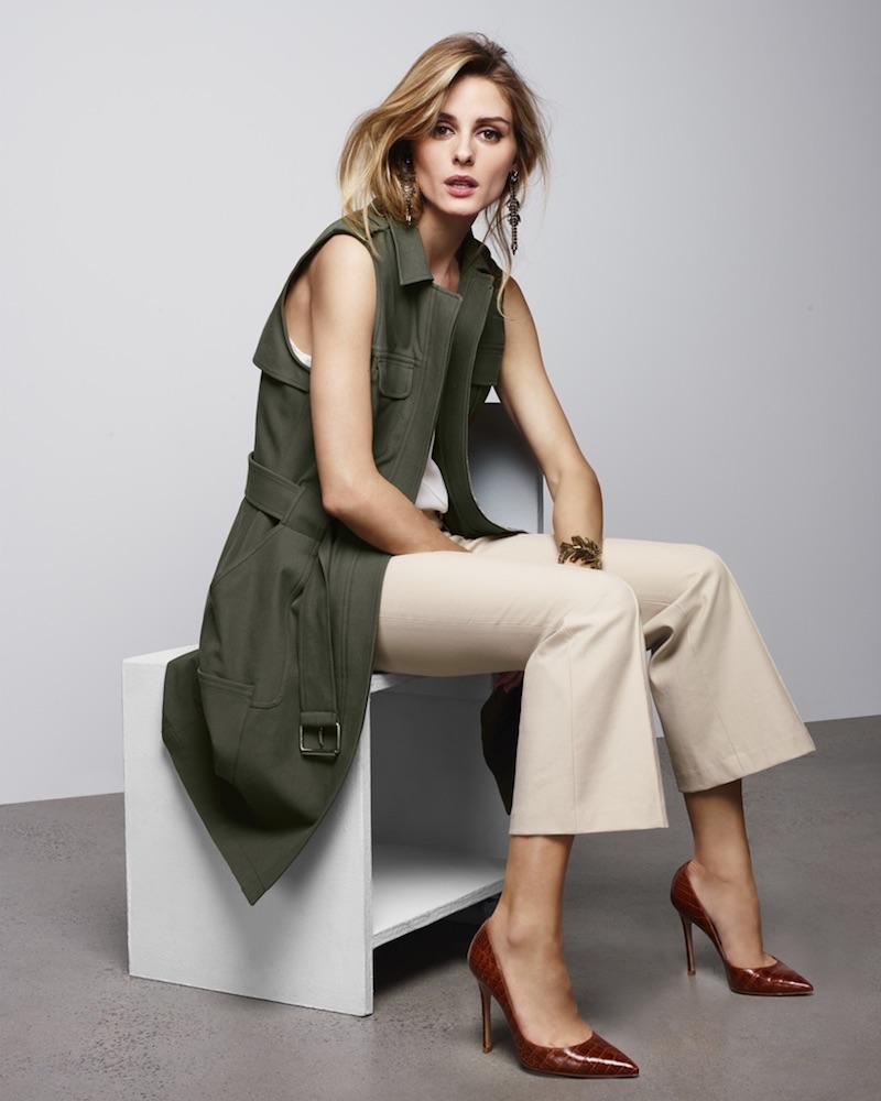 Olivia Palermo + Chelsea28 Vest