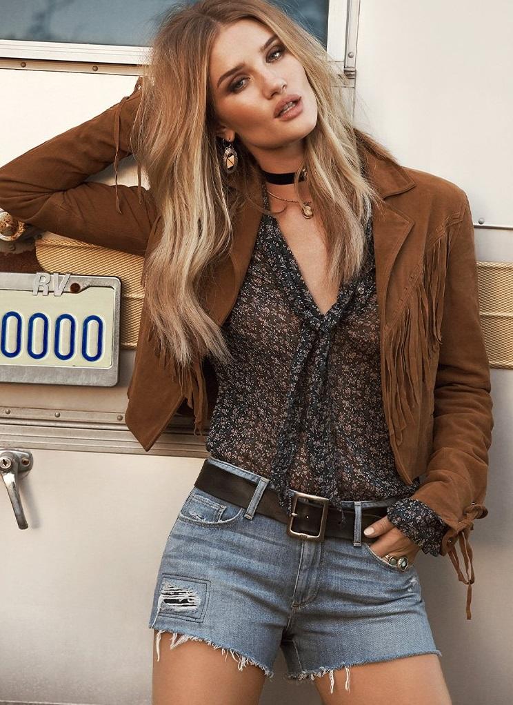 Paige Denim Tiana Suede Jacket
