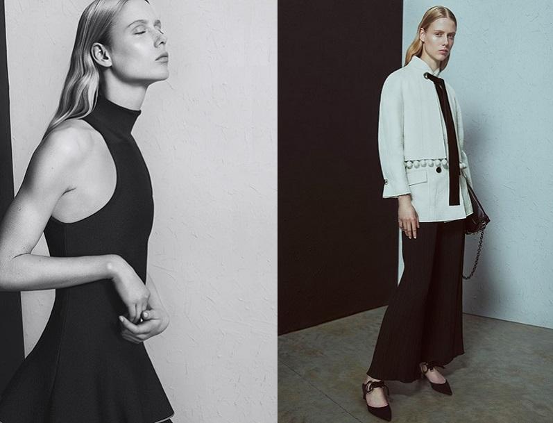 Proenza Schouler Floral-jacquard velvet-tie jacket