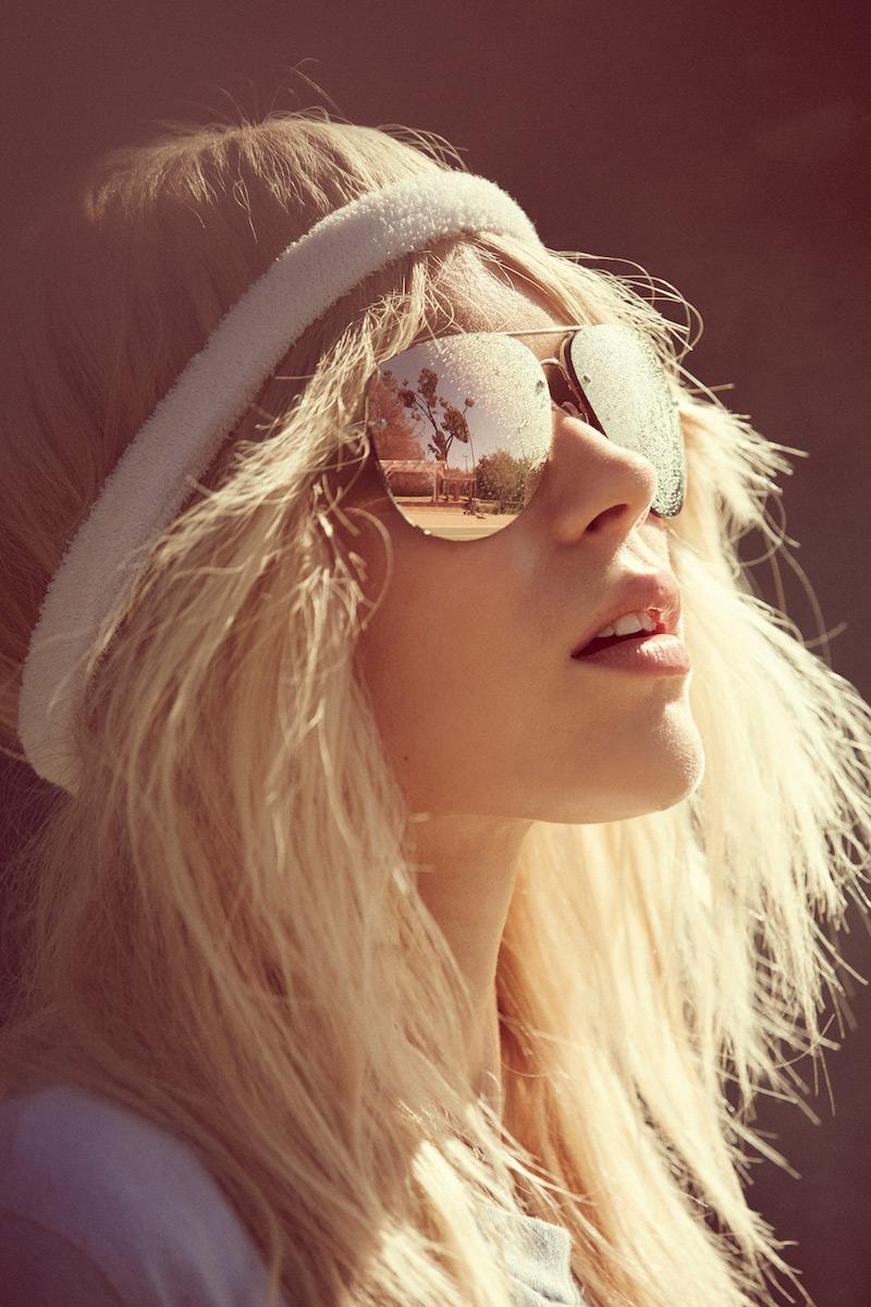 Quay x Amanda Steele Muse Mirrored Aviator Shades_1