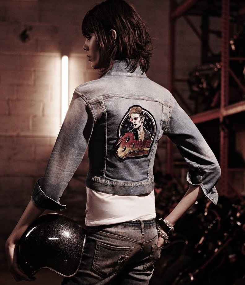 R13 Bowie Shrunken-Fit Trucker Jacket