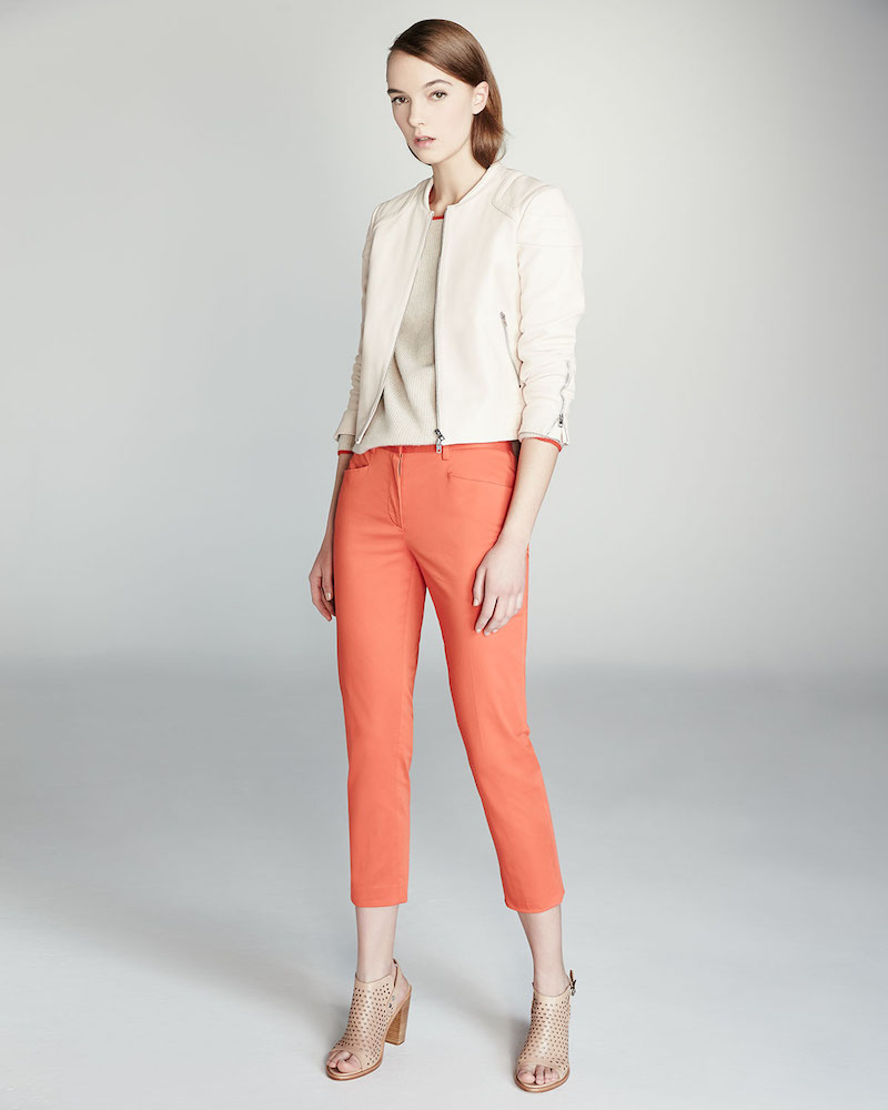 Rag & Bone Audrey Cropped Stretch Pants