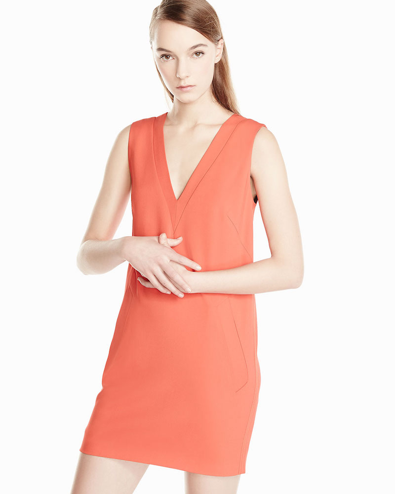 Rag & Bone Phoebe Sleeveless Crepe Dress