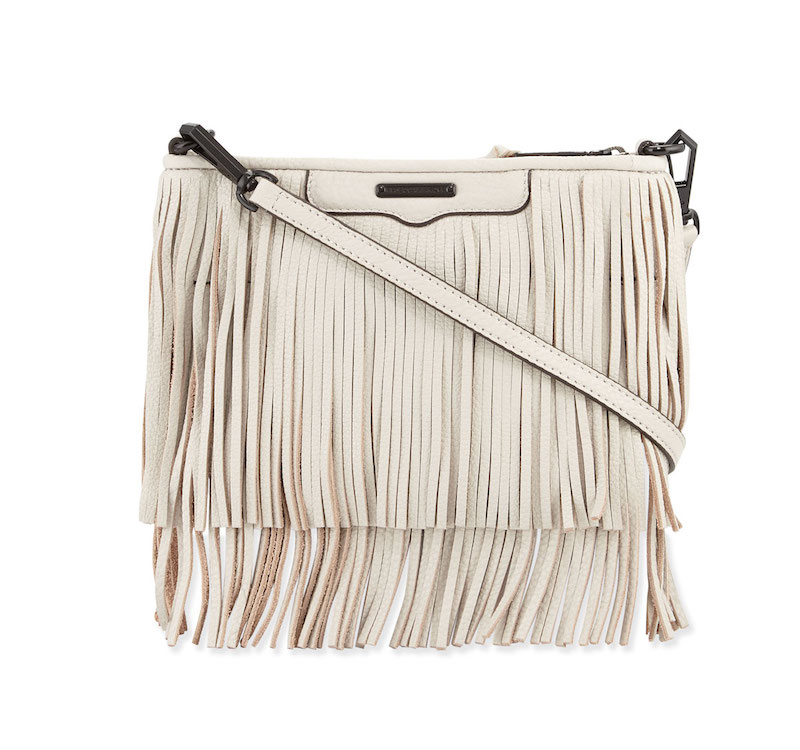 Rebecca Minkoff Finn Fringe Leather Crossbody Bag