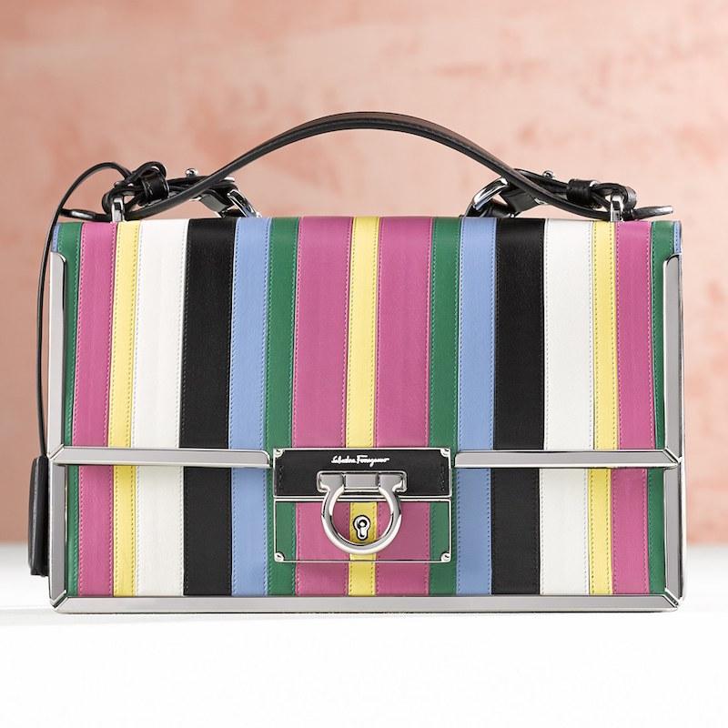 Salvatore Ferragamo Aileen Leather Crossbody Bag
