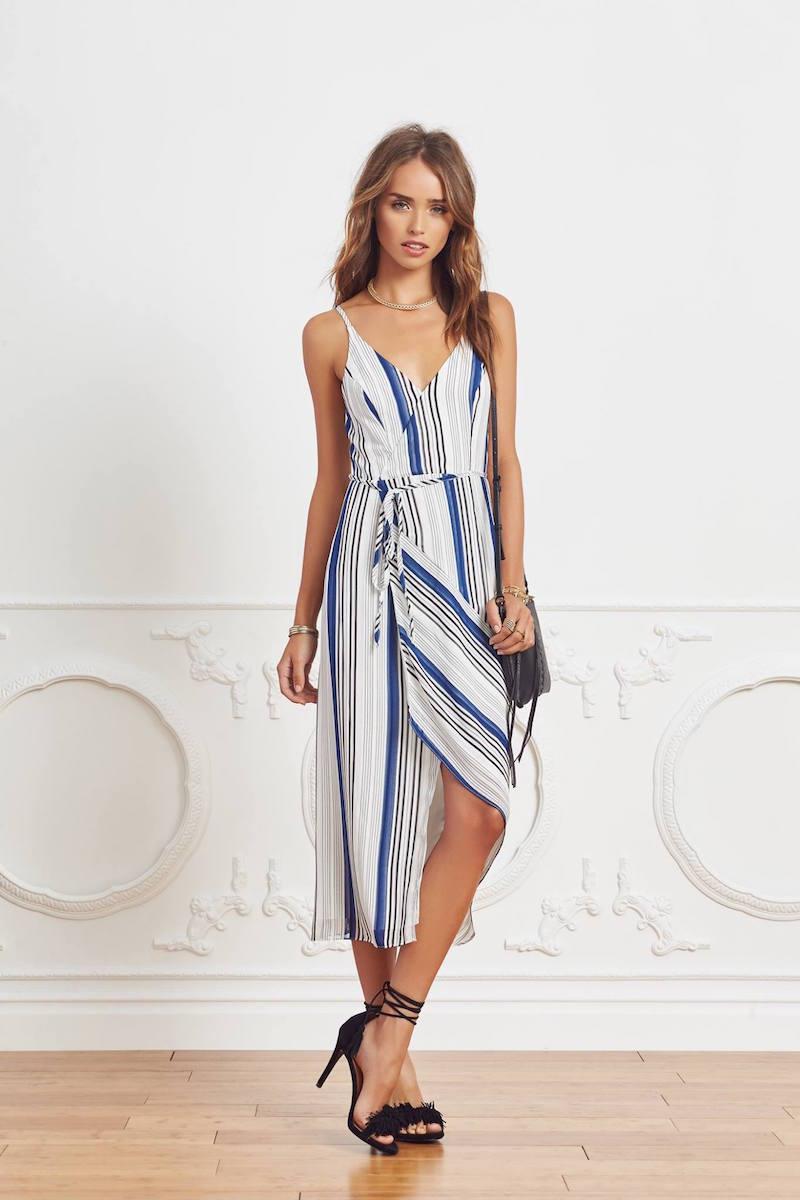 Shona Joy Stratos Wrap Dress