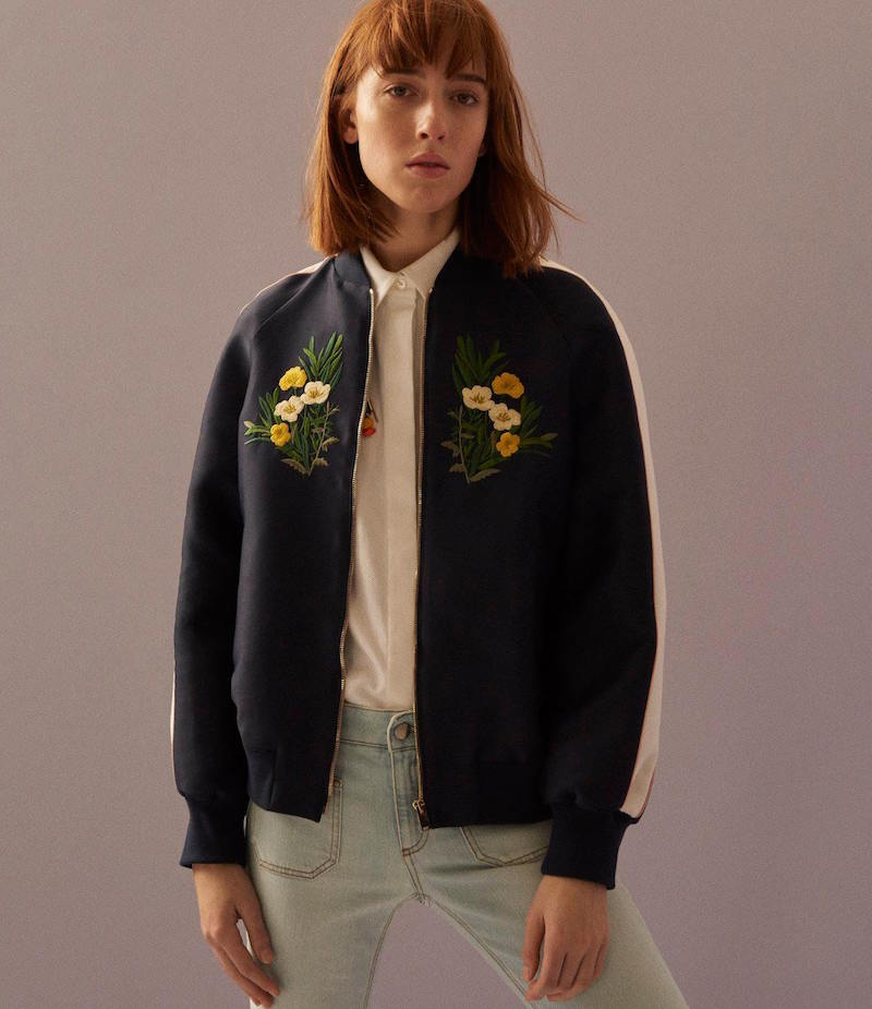 Stella McCartney Lorinda Bomber Jacket