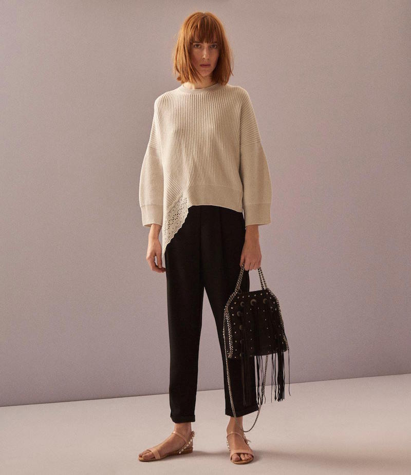 Stella McCartney Mixed-Stitch Sweater