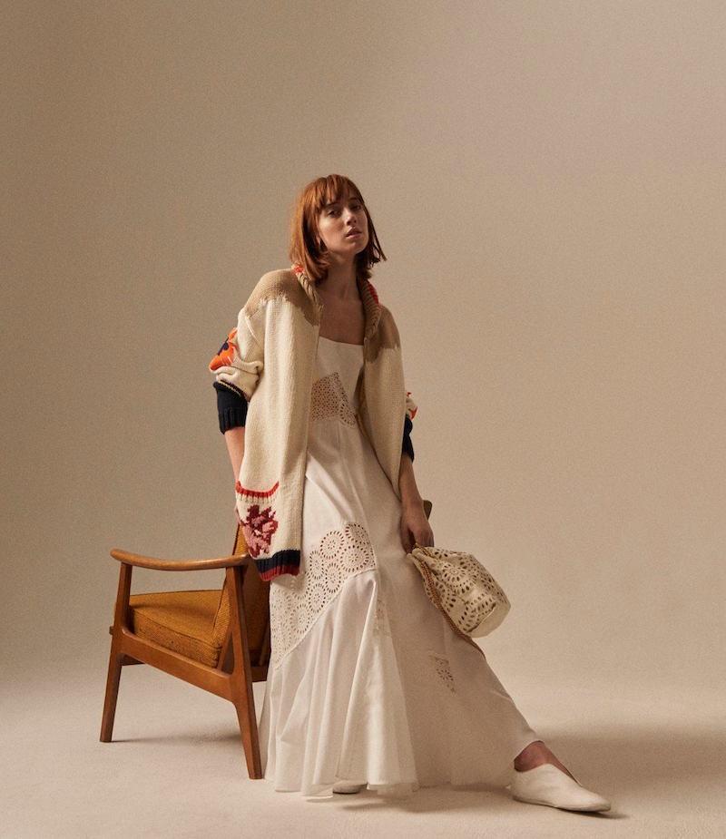 Stella McCartney Winnet Eyelet Dress