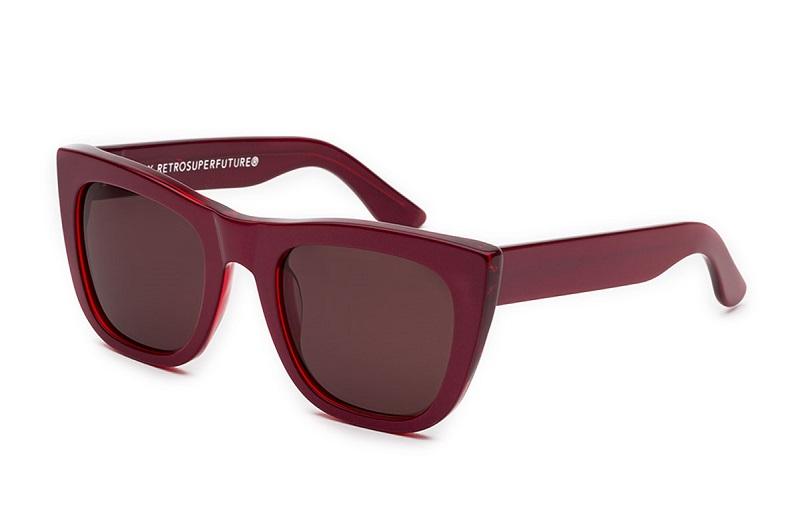 Super by Retrosuperfuture Gals Square Sunglasses