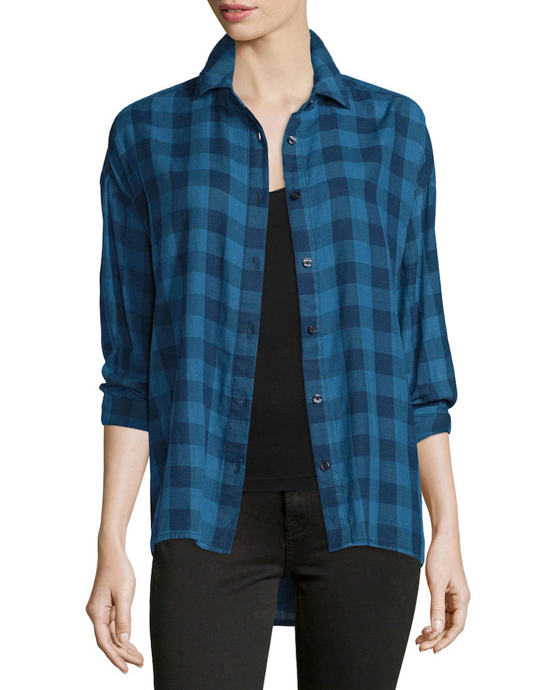 The Great The Big Shirt Button-Front Shirt