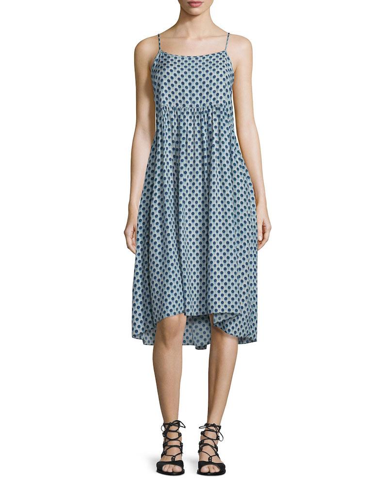 The Great The Tea Time Dot-Print Dress_1