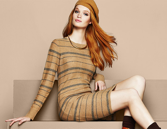 The Sweater Dress feat. Cashmere Addiction at MYHABIT