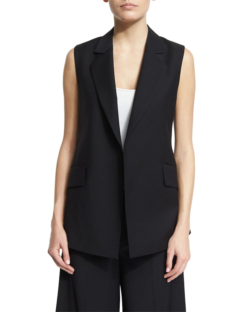 Theory Sedeia Continuous Wool-Blend Vest_1
