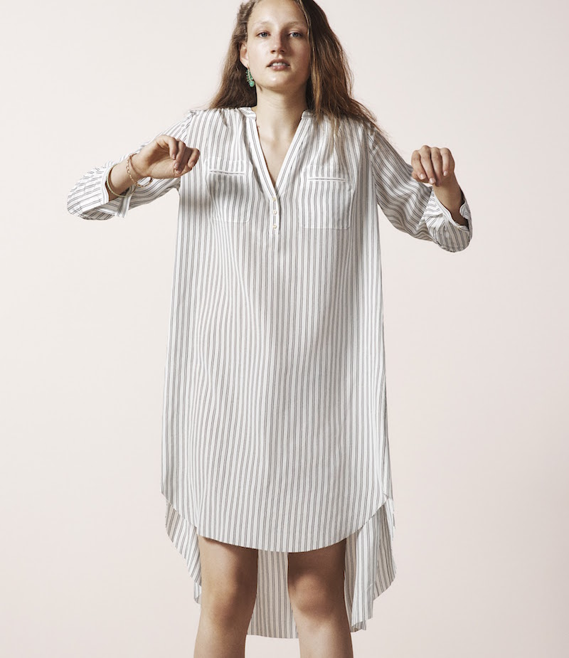 Ulla Johnson Jihane Silk Shirtdress