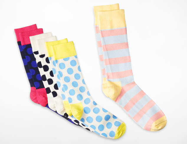 Up to 70 Off Socks & Tights feat. Happy Socks at MYHABIT