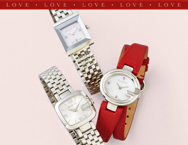 Up to 75 Off Designer Watches feat. Gucci at MYHABIT