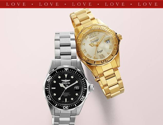 Up to 85 Off Invicta Watches at MYHABIT