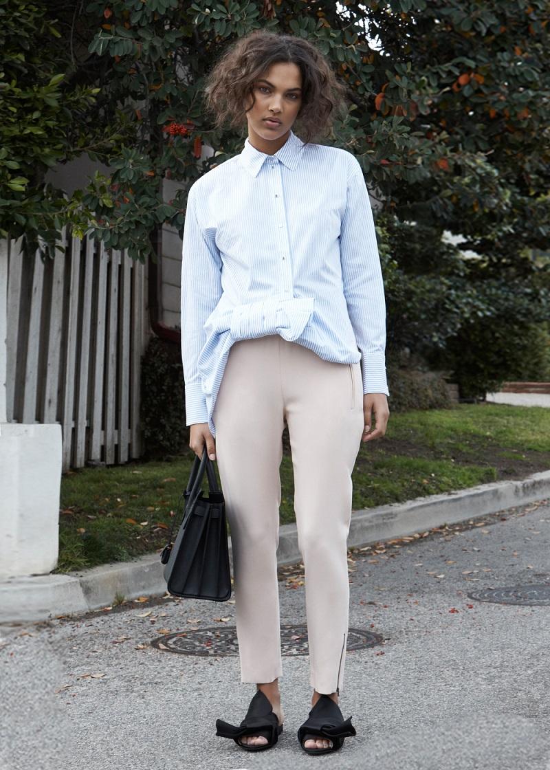 Victoria Victoria Beckham Asymmetric Bow Top