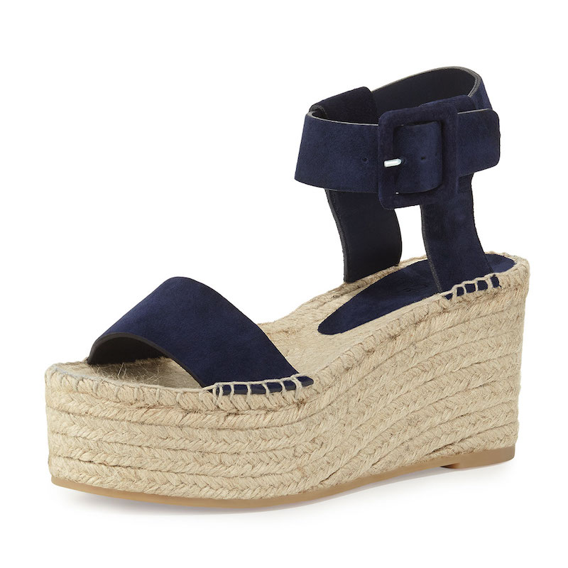 Vince Abby Suede Espadrille Sandal