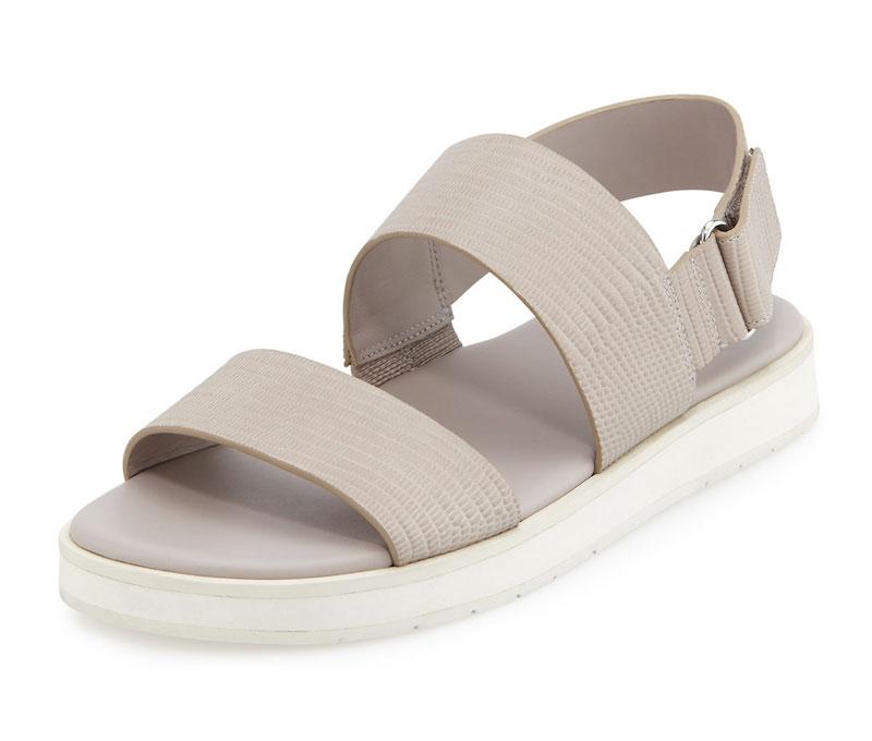 Vince Brennen Leather Platform Sandal