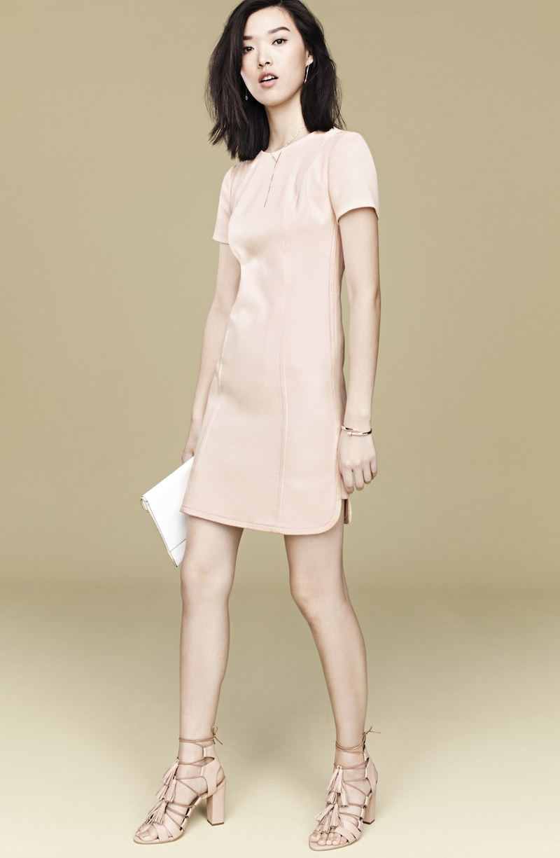 Vince Camuto Seamed Shift Dress