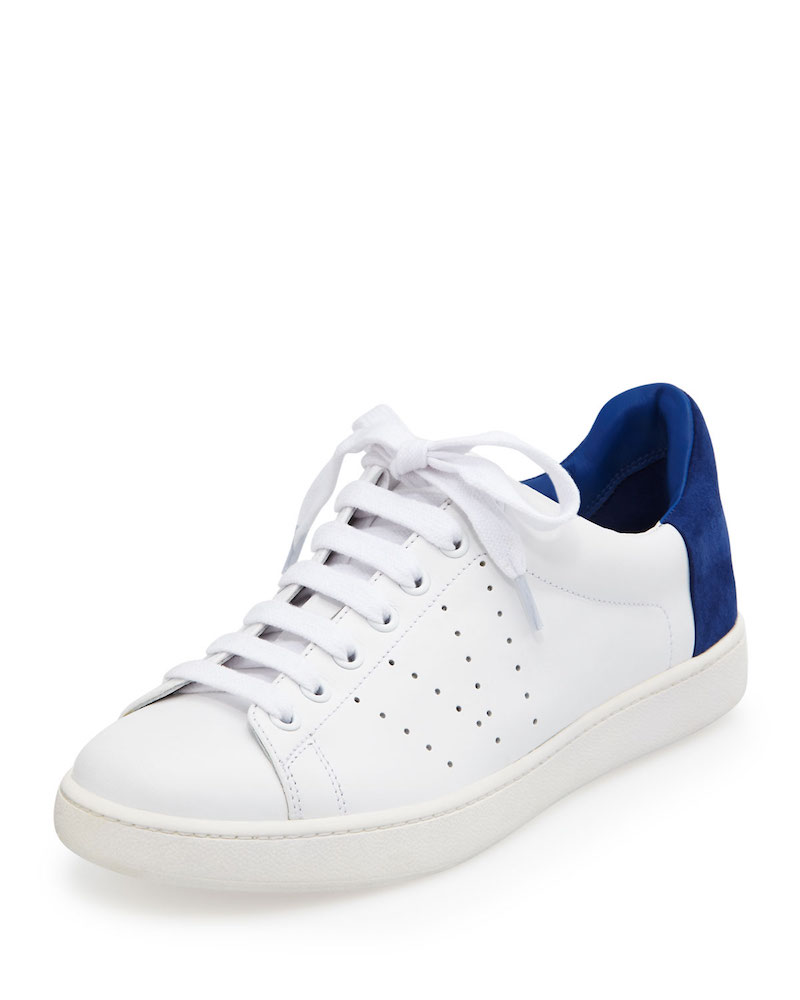 Vince Varin Two-Tone Leather Sneaker