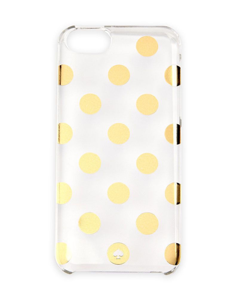 kate spade new york le pavillion polka-dot resin iPhone case