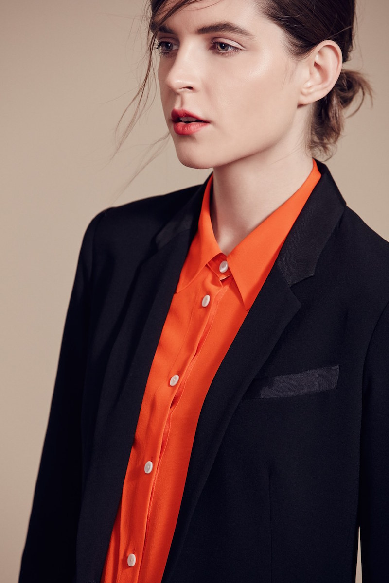 rag & bone Poppy Silk Shirt