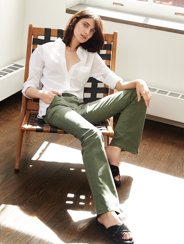 3x1 W2 Military Flare Pants