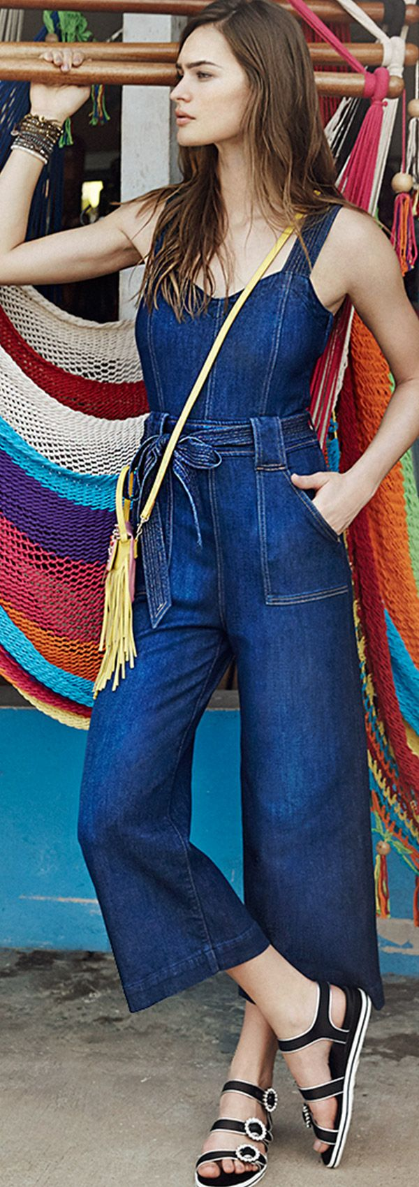 7 For All Mankind Denim Jumpsuit_1