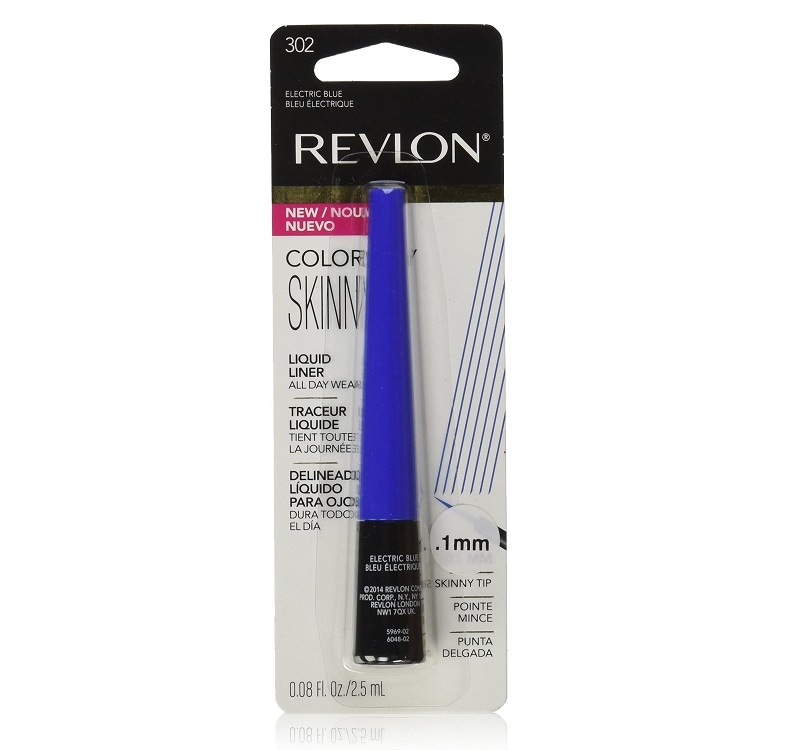 Revlon Colorstay Skinny Liquid Liner, Electric Blue