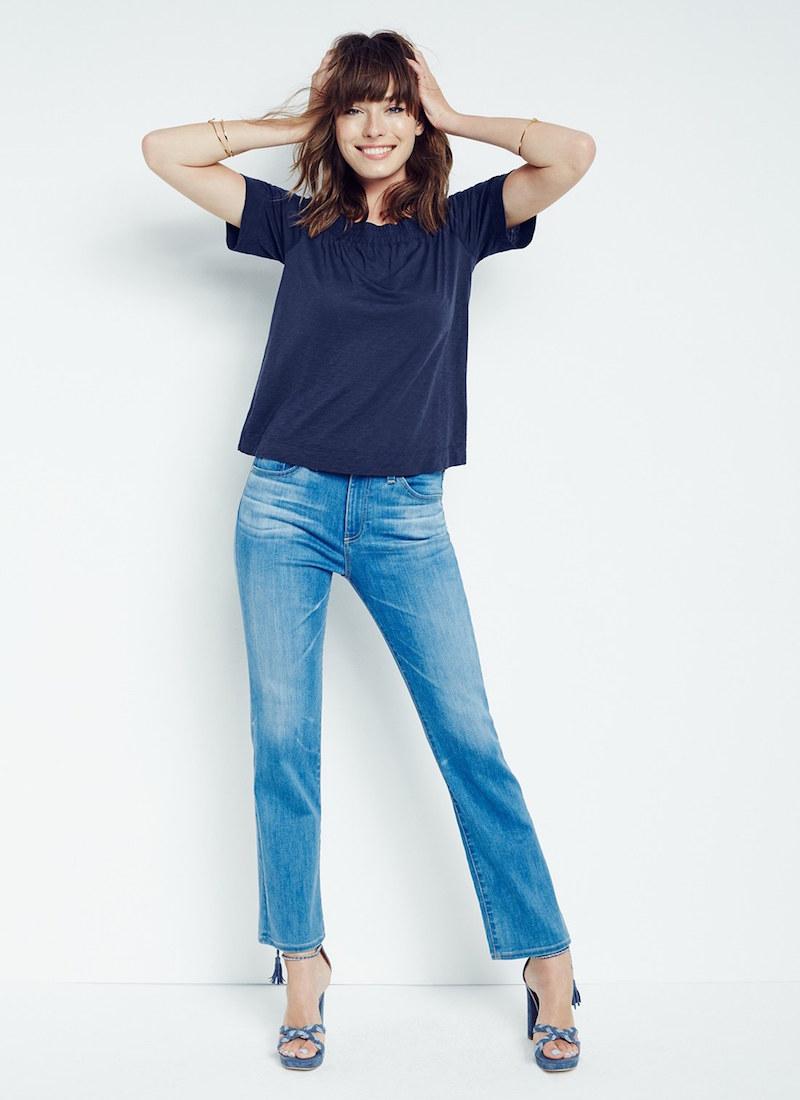 AG Jodi Crop Slim Flare Jeans