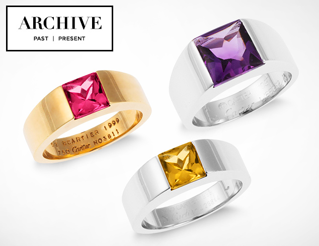 ARCHIVE Jewelry feat. Cartier at MYHABIT