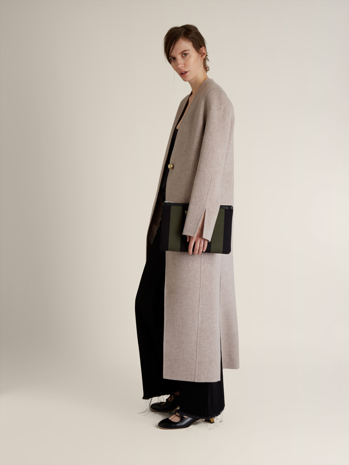 Acne Studios Valda wool and cashmere-blend coat