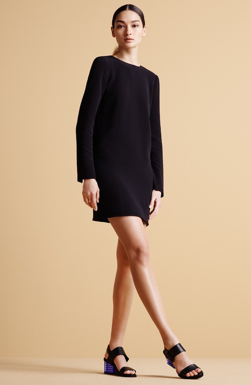Alexander Wang Plunging Back Tunic Dress_2