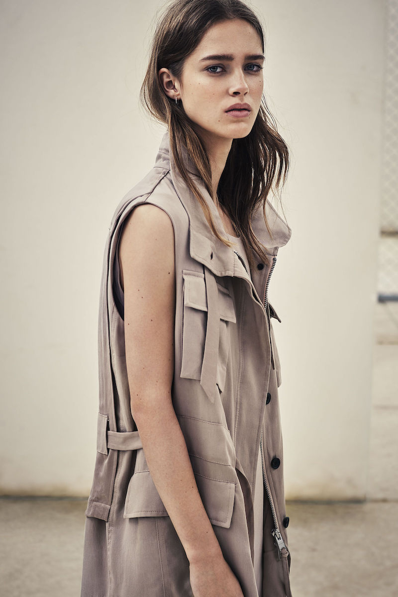 AllSaints Aiya Sleeveless Jacket