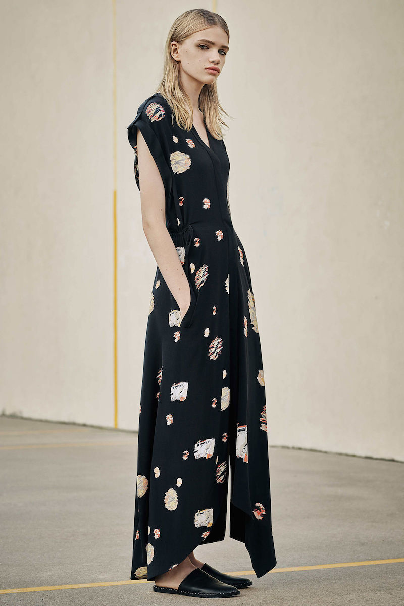 AllSaints Tate Brocade Dress
