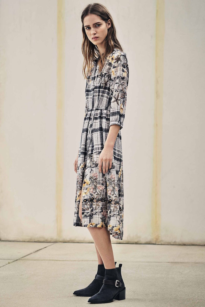 AllSaints Volta Kinori Dress