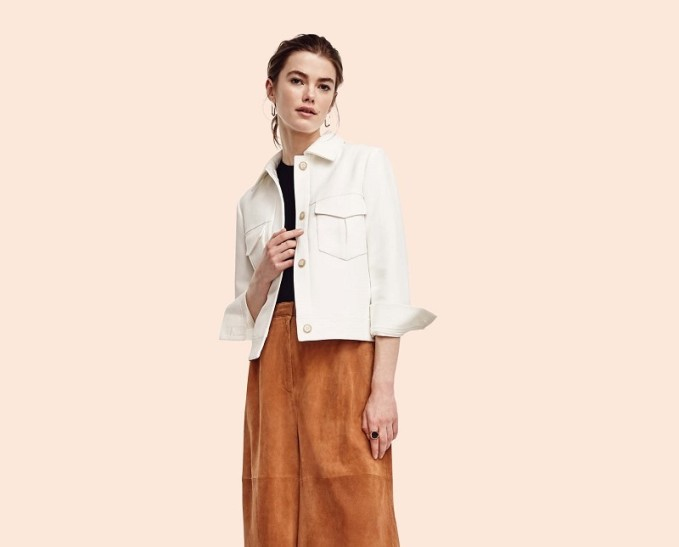 Ann Taylor Side Button Sleeveless Sweater -