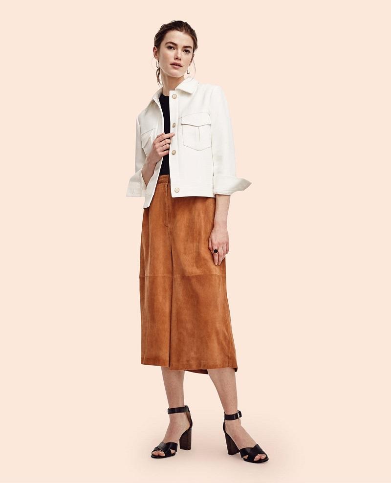 Ann Taylor Side Button Sleeveless Sweater