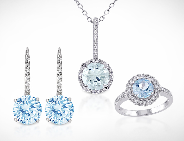 Aquamarine March Birthstone Jewelry at MYHABIT