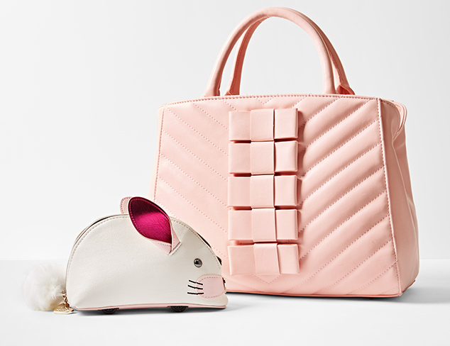 Bags & Backpacks feat. Betsey Johnson at MYHABIT