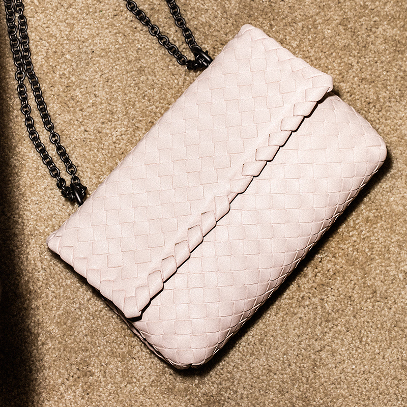 Bottega Veneta Baby Olimpia Chain Bag