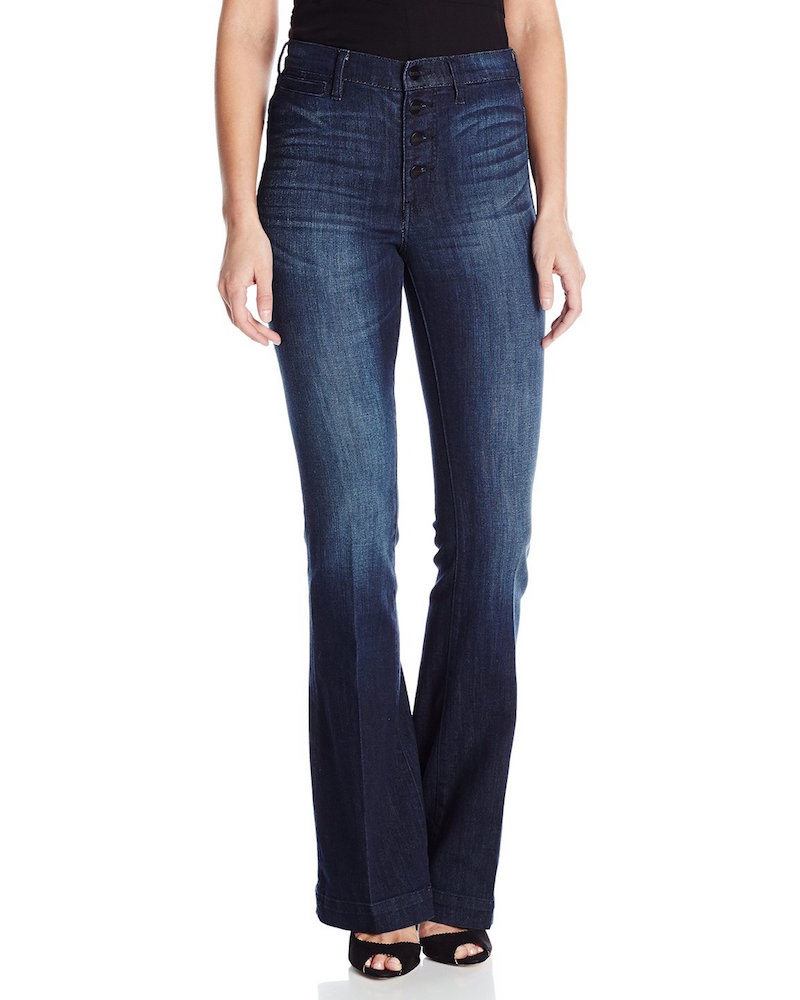 Buffalo David Bitton Inka Flare High Rise Wide Leg Jean