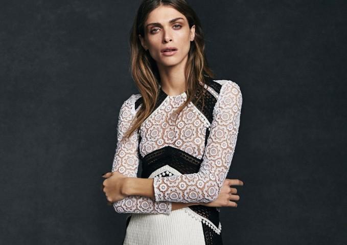 Burberry Prorsum Cotton-blend dress