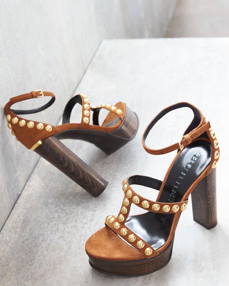 Burberry Rhys Studded Platform Sandal