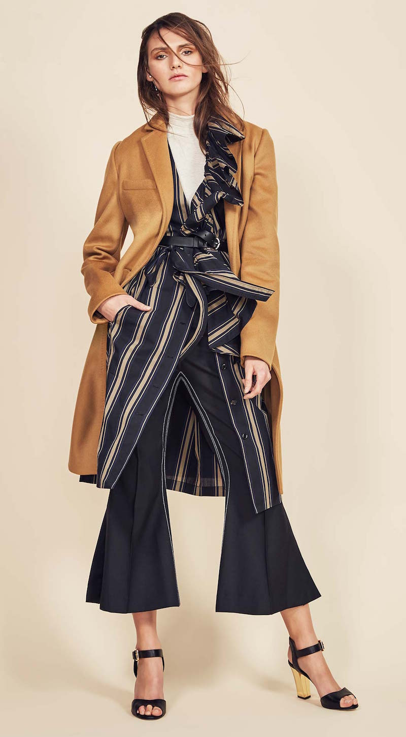 Burberry Storm Shield Silk Wool Trench Coat