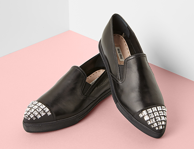 Designer Shoes feat. Miu Miu at MYHABIT
