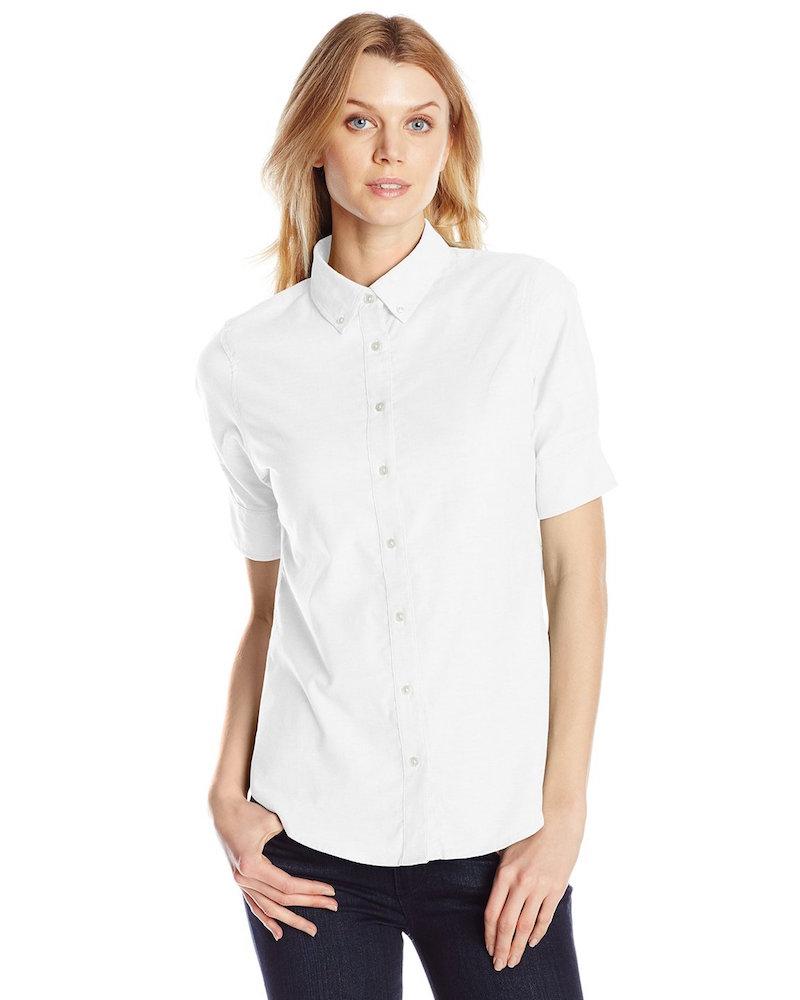Dockers Short Sleeve Button Down Oxford Shirt